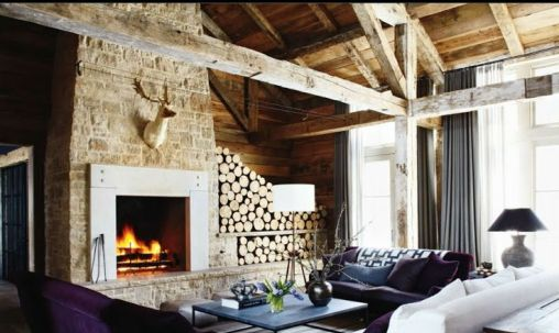 Tips to use firewood to decorate