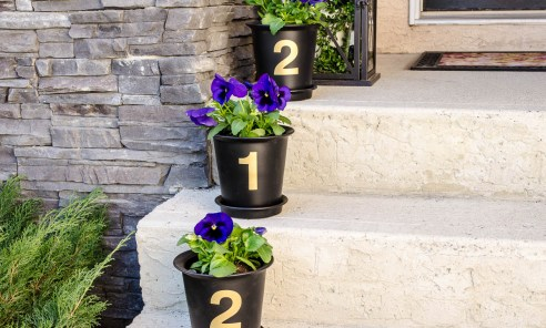 Ideas To Decorate Your Own Pots Outside